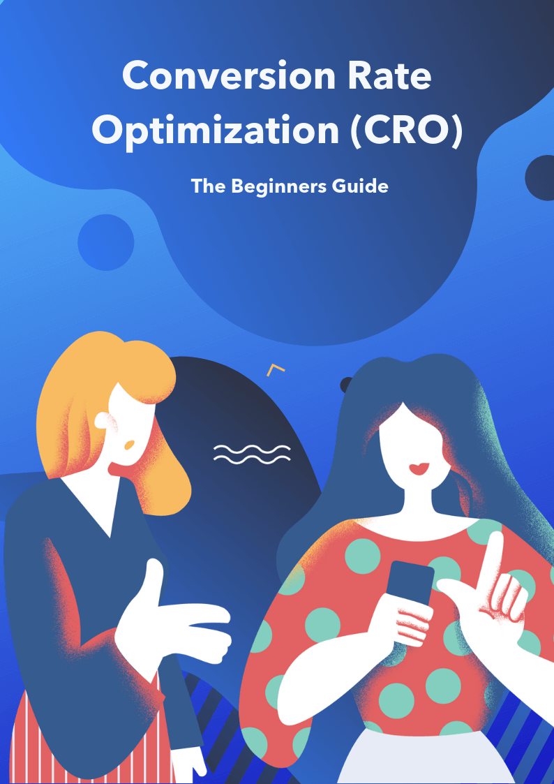 conversion rate optimization (CRO) the beginners guide ebook cover image