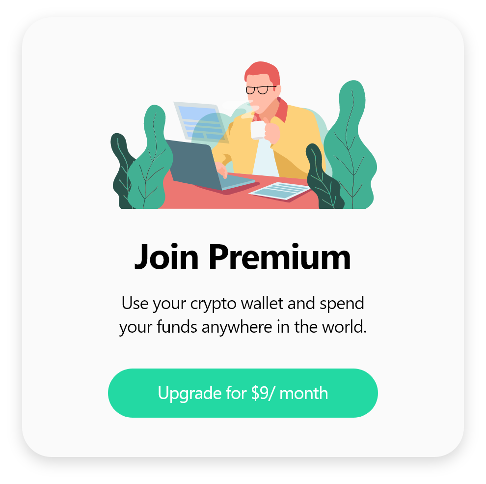 join premium account popup design