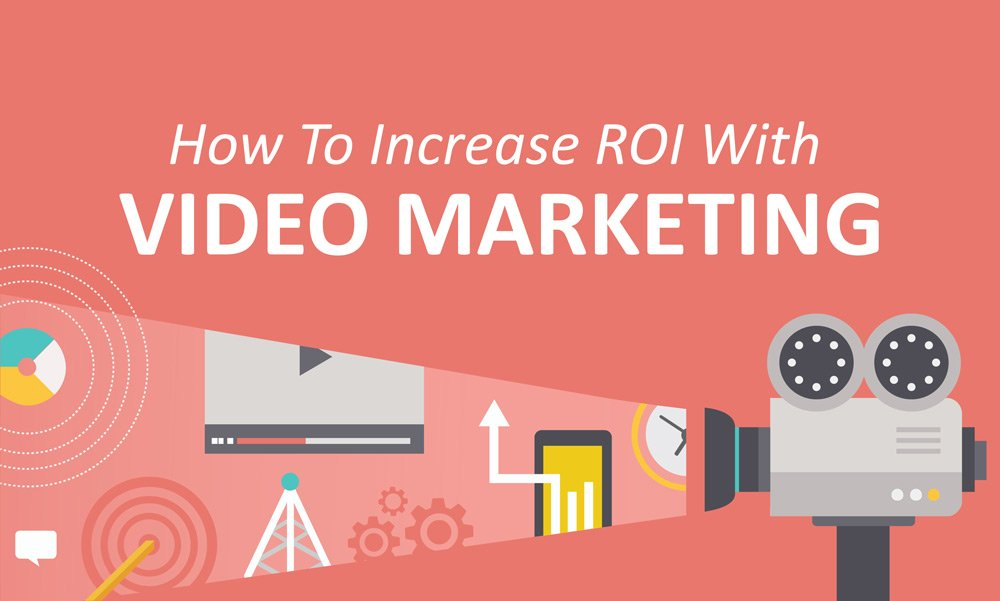 How to increase ROI with video content marketing image.