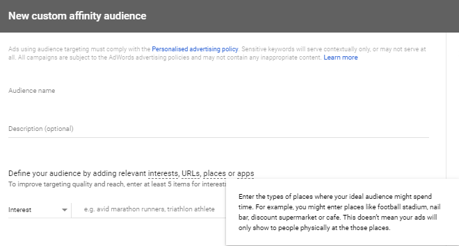Google Ads (AdWords) Latest Updates on Targeting Options (2018