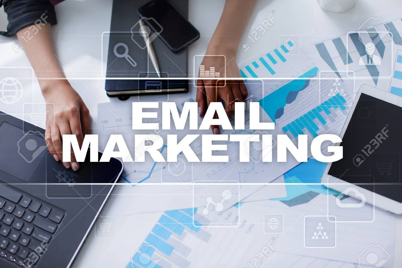 Image of the first look of the email marketing.