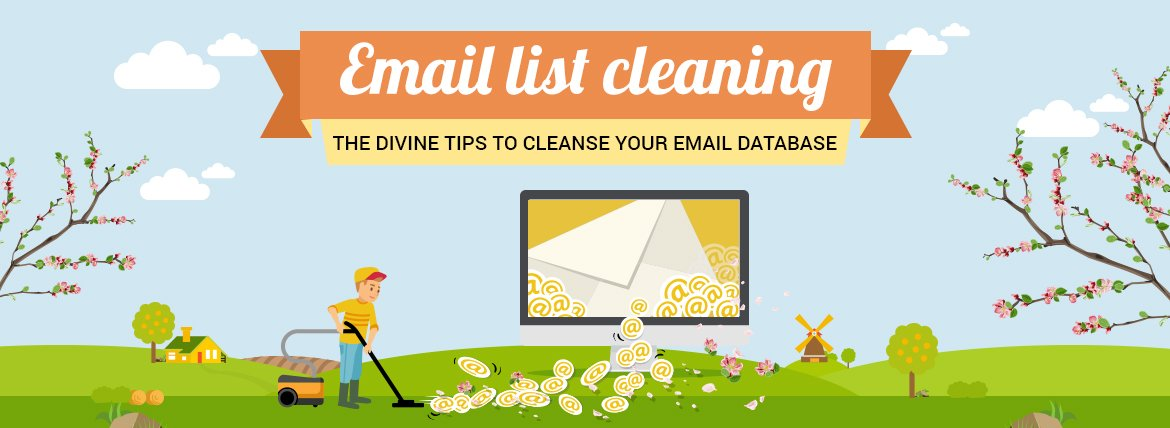 Email list cleaning services.