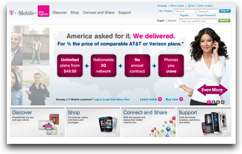 Image of the T-mobile example