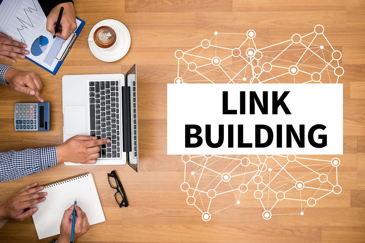 Importance of link building for SEO.
