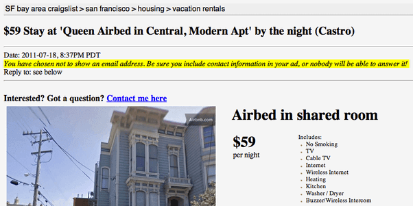 AirBnB is a successful example of growth hacking!