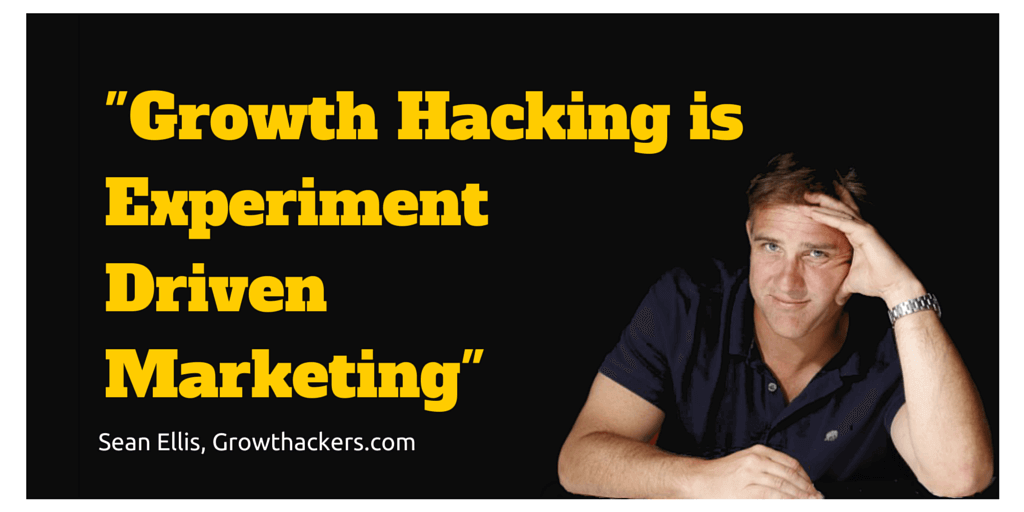 Answer of what is growth hacking.
