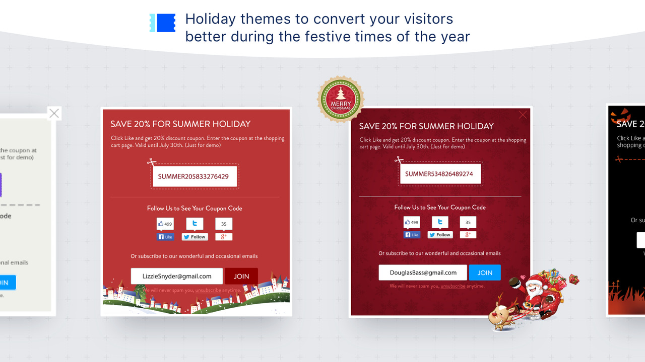 Better Coupon Box popup example
