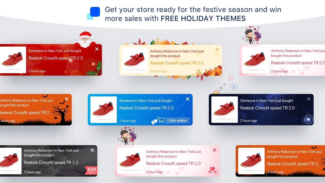 Sales pop design examples.