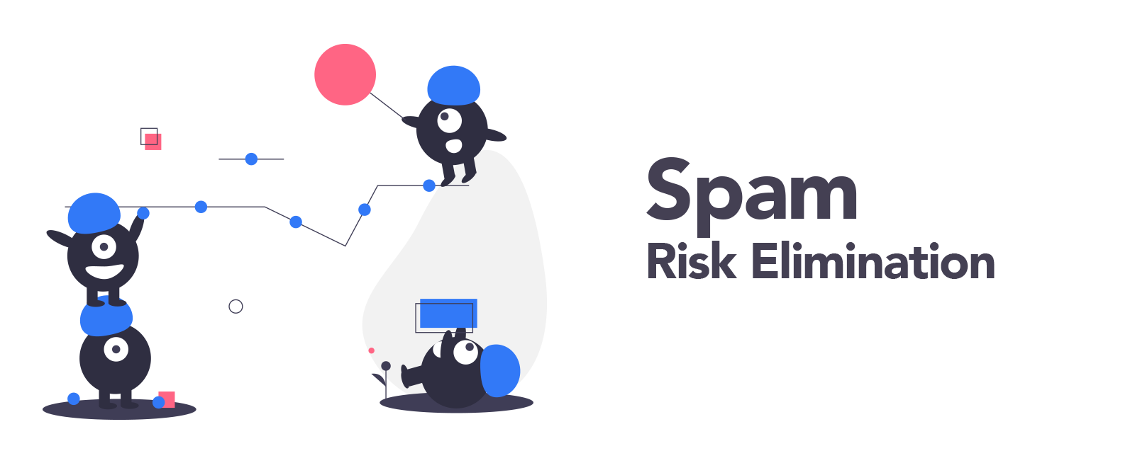 spam risk elimination illustration
