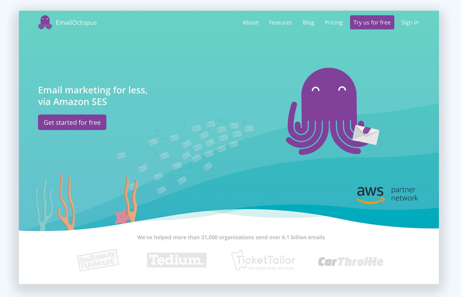 Email Octobus Email Marketing with Amazon SES