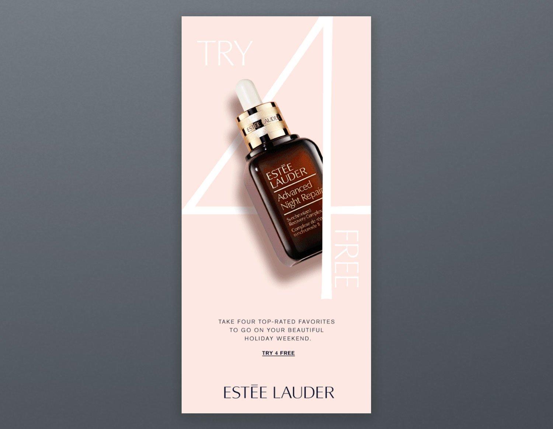 Estee Lauder Email Campaign