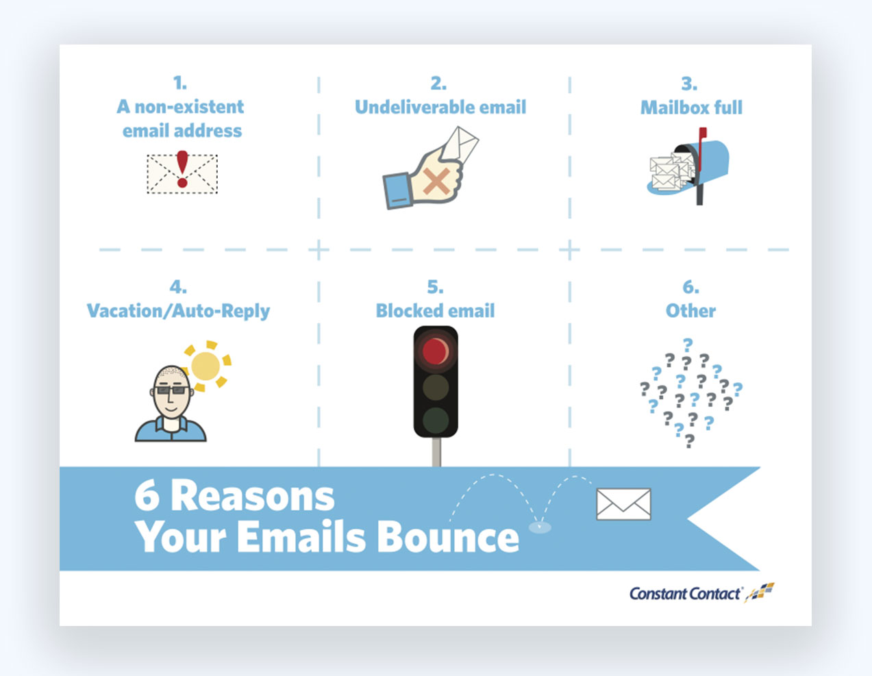 6 Reasons to Bounce Email