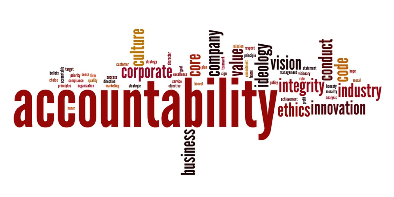 Word of Accountability and Words Related with Accountability
