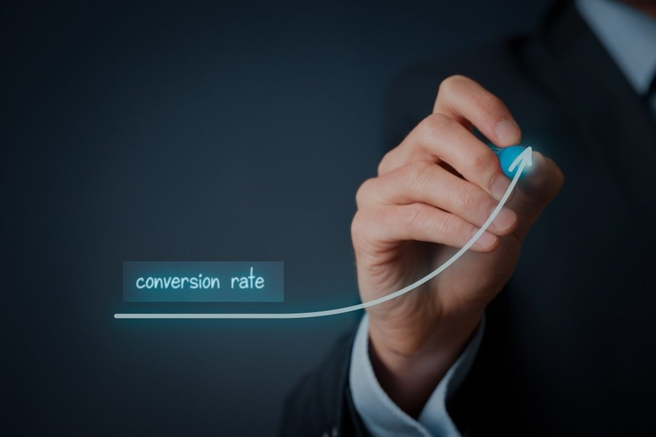 Increase in conversion rate by using landing pages