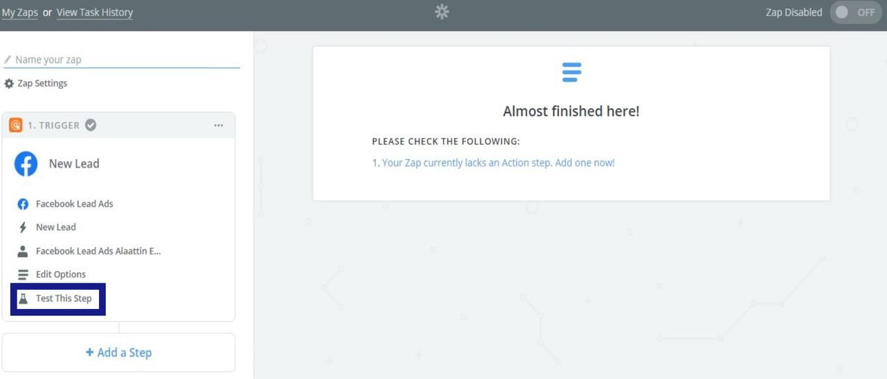 test the trigger account in zapier to see if there is any problemssee if
