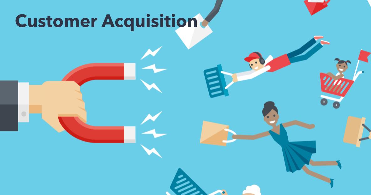 customer acquisition illustration